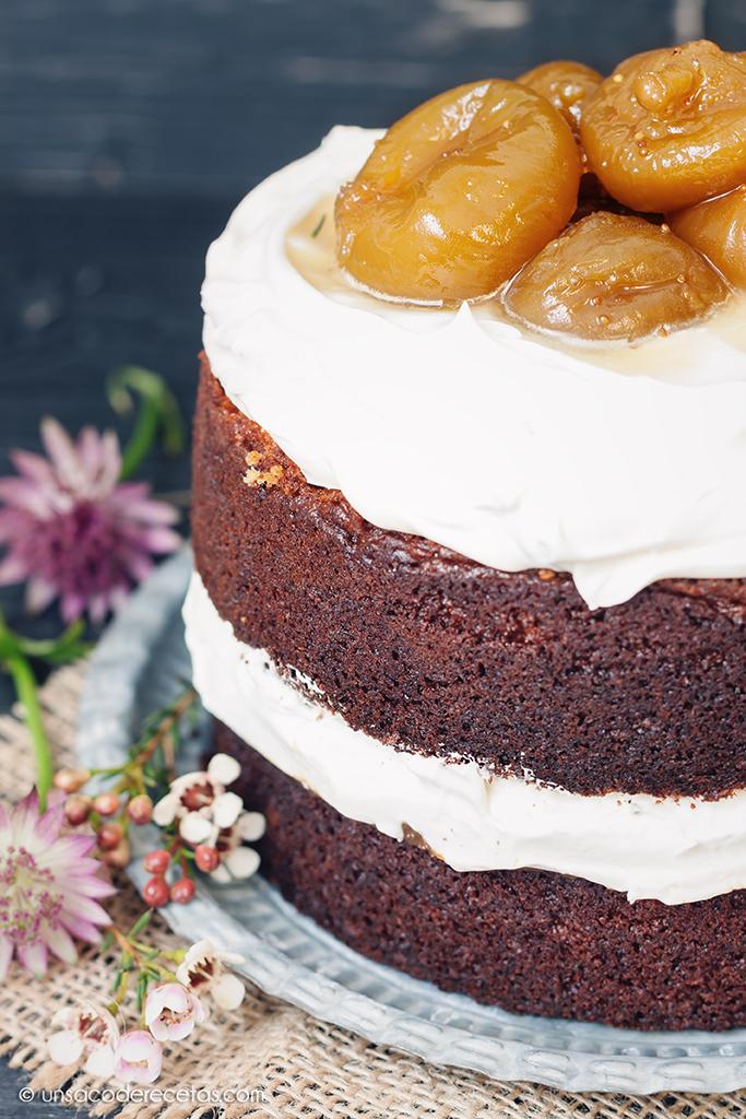 Layer cake de higos al oloroso